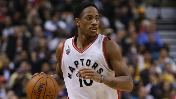 DeMar DeRozan is putting Toronto on his back as he and the Raptors are chasing the Cleveland Cavaliers. Photo: Getty Images