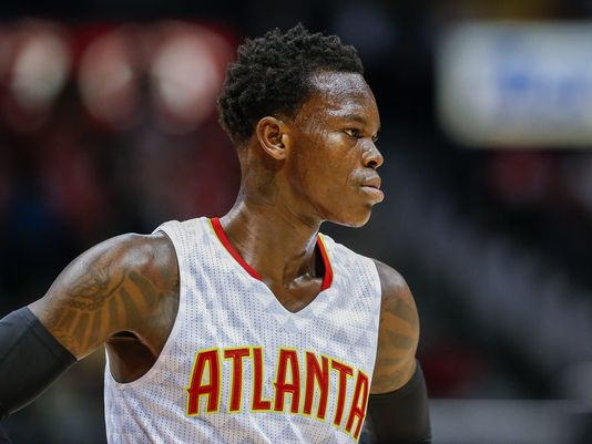 With Jeff Teague gone, it is time for Dennis Schroder to rise up and lead the Atlanta Hawks. Photo: Erik S. Lesser/EPA