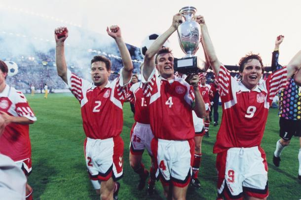 Dinamarca campeón de Europa 1992 | Foto: Quelchepassalosport