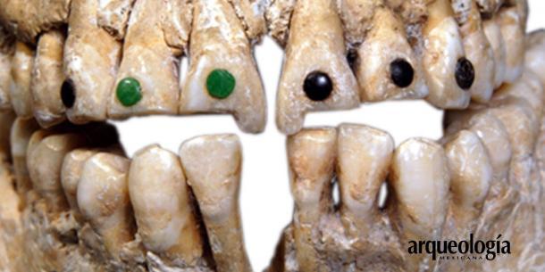 Incrustación y limado de la dentadura maya | Arqueología mexicana