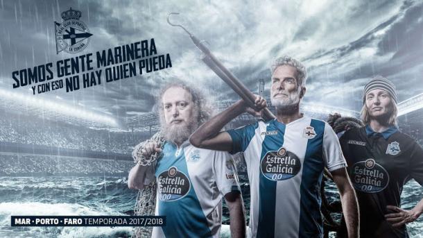 Foto: Divulgação/Deportivo La Coruña/Macron