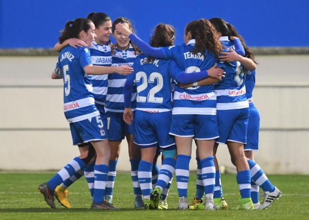 El RC Deportivo, gran revelación de esta temporada. FOTO: La Opinión A Coruña