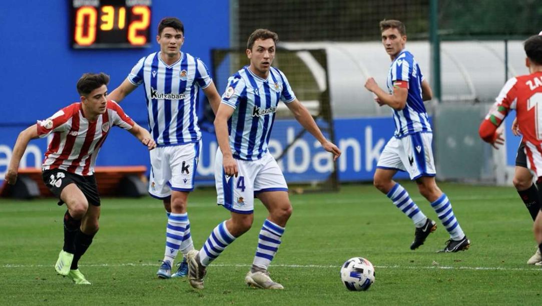 Imagenes del derby de la primera vuelta // Foto: Real Sociedad