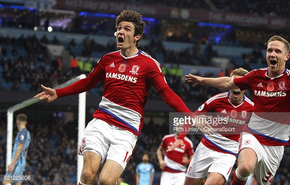 Aitor Karanka paid Atalanta £12 million for de Roon in the summer | Photo: GettyImages/Rich Linley