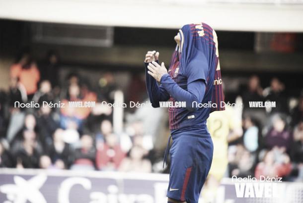El Barça se lamenta tras perder en Sevilla | Foto: Noelia Déniz, VAVEL