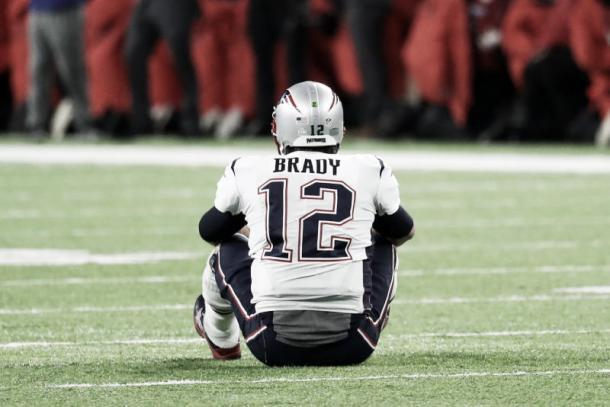 Brady en la derrota ante Eagles en la Super Bowl LII. Foto: NFL