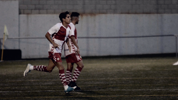 Mario Rodríguez debutó en la segunda parte. Foto: Roger Benet/CE Sabadell
