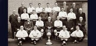 Tottenham ganador de la Firts Division 1950/51. Foto: Tottenham Hotspur.