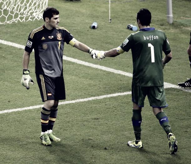Casillas y Buffon, una rivalidad histórica. Foto: RFEF.