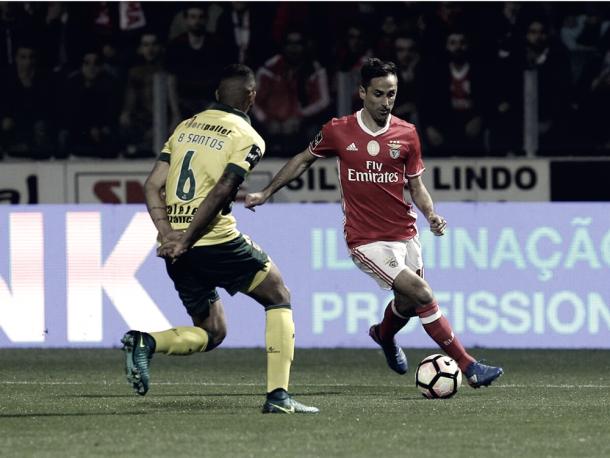 Benfica no pudo ganar a Paços. Foto: SL Benfica