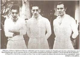Olivares, con Ciriaco y Quincoces. Fuente: glorioso.net