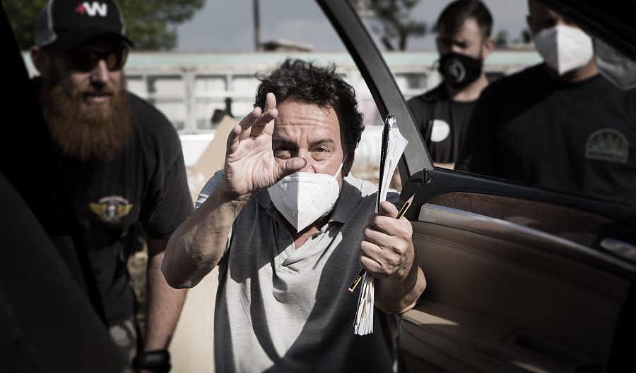 El director Oriol Ferrer en el rodaje | Fuente: Miguel Romero