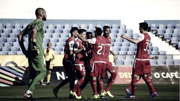 Belenenses no pudo puntuar ante Braga. Foto: SC Braga