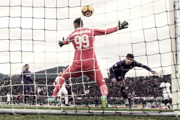 La Fiorentina mereció más ante el Milan / Foto: Fiorentina