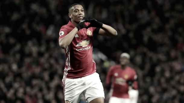 Martial sabe hacerle daño al Saint-Étienne | Foto: Manchester United
