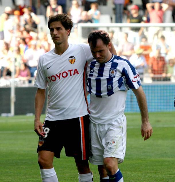 Xabi Prieto no jugó las dos últimas jornadas, Mestalla lo vivió desde fuera. Fotografía: Mundo Deportivo.