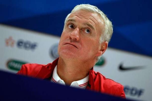 Didier Deschamps quer a vitória neste domingo // Foto: abola.pt