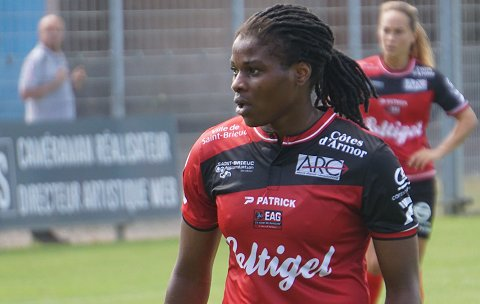 Guingamp will need more from Desire Oparanozie this season | Source: soccerclassique.com