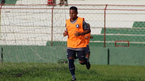 Antes dúvida no Leão, atacante Elielton foi relacionado e deve ser titular (Foto: Samara Miranda/Ascom Remo)