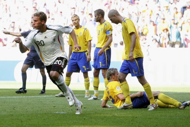 Suecia fue eliminado por Alemania en el Mundial 2006 | Foto: @DFB_Team_EN