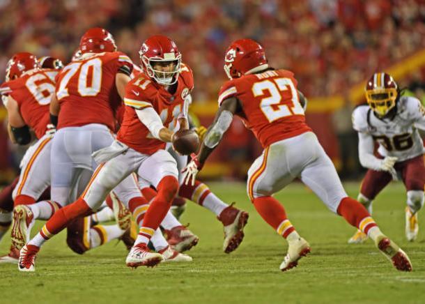 Smith e Hunt serão peças chaves para os Chiefs | Foto: Dustin Bradford/Getty Images