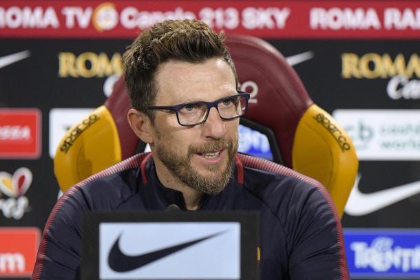 Di Francesco quiere que su equipo anote más goles   Foto: AS Roma