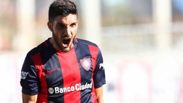 Nicolás Blandi es una de las cartas de gol del Ciclón | Foto: Diario Buenos Aires