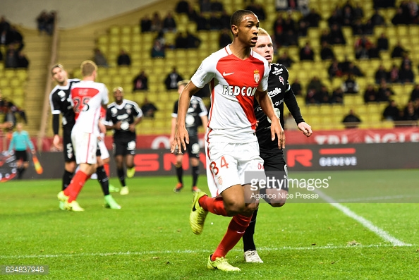 Abdou Diallo in action against FC Metz last season. (Source: Agency Nice Presse/Getty Images)