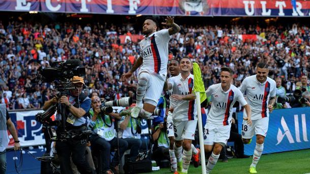 Neymar marcó el único gol del PSG - Racing de Estrasburgo en El Parque de los Príncipes | Foto: Web Oficial del Paris Saint-Germain