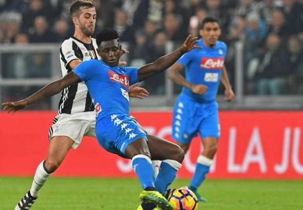 Amadou Diawara, dopo le recenti prestazioni, può tornare titolare contro la Lazio - Foto Getty Images