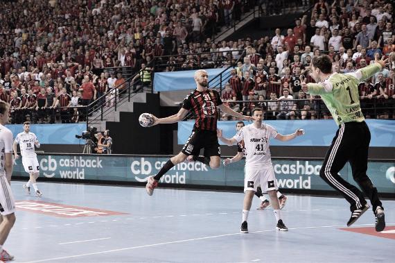 Dibirov, goleador de los macedonios en la actual EHF Velux Champions League   Foto: ehfcl.com