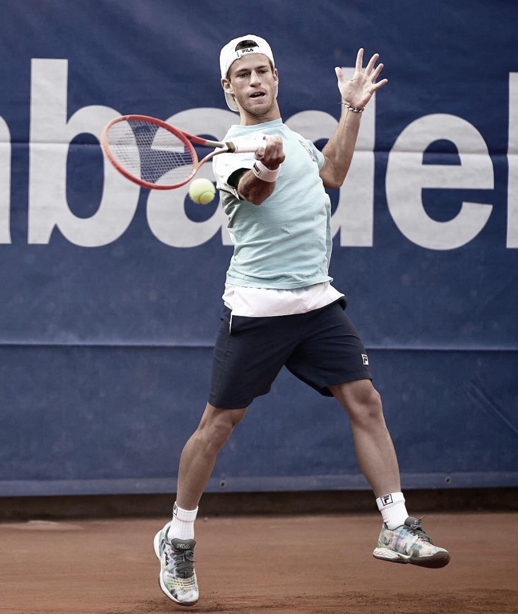 Diego Schwartzman, el mejor clasificado de Sudamérica. Barcelona Open Banc Sabadell @bcnopenbs