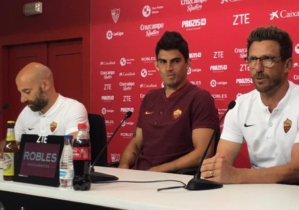 La Roma cade a Siviglia: 2-1 firmato Escudero, Nolito e Dzeko