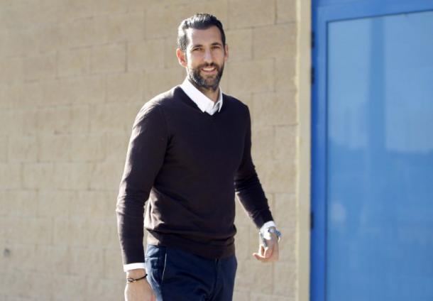 Diego López estará ausente en el encuentro frente al Alavés. Fuente: rcdespanyol.com