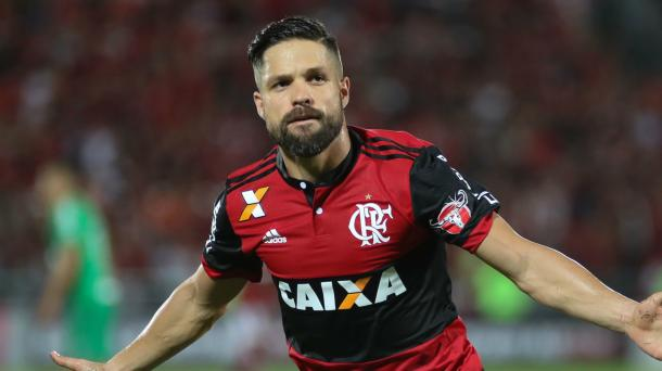 Assim como Trauco, Guerrero e Cuéllar, Diego também é dúvida para Fla-Flu | Foto: Gilvan de Souza/Flamengo
