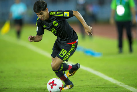 México pierde con una Inglaterra favorita al Mundial Sub-17