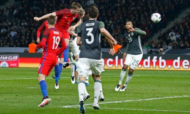 Eric Dier scored the winner in the famous win over Germany in March | Image: Carl Recine/Reuters