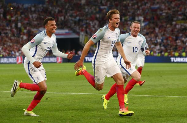 Dier scored for England at Euro 2016 (photo: Getty Images)