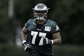 Dillard entrenando con Philadelphia en los OTAs (Foto: NFL.com)