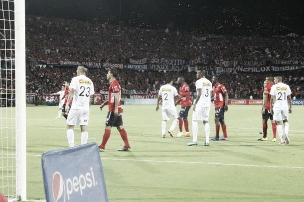 Compromiso frente a Once Caldas, el 'rojo' se impuso (1-0) | Foto: Daniela Paniagua, VAVEL Colombia.