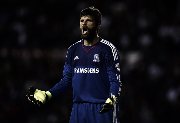 Dimi Konstantopolous has been Middlesbrough's number one since September 2014 - Picture via Getty