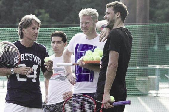 Dimitrov y Davin no llegaron al año juntos. Foto: ATP