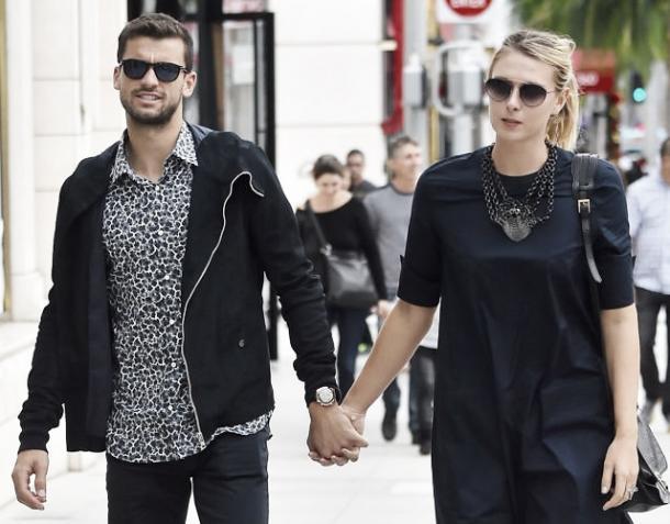 La relación entre Dimitrov y Sharapova duró de 2013 a 2015. Foto: Twitter