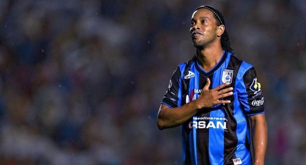 Ronaldinho generó grandes entradas a los estadios en su estadía por México / Foto: Club Querétaro