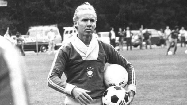 Zagallo no comando da seleção em 1974 (Foto: Reprodução/CBF)