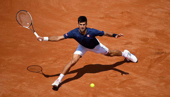Djokovic is finding his best form ahead of his title defence at Roland Garros (Photo by Gareth Copley / Getty)