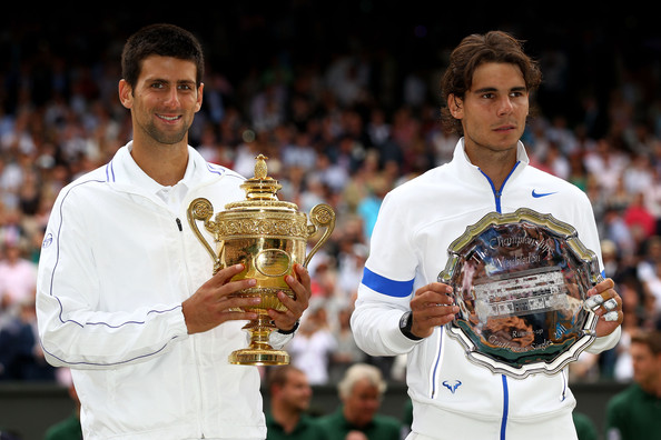 Djokovic's victory over Nadal at Wimbledon in 2011 was the Serb's first Slam victory not on hard courts (Photo by Clive Brunskill / Getty Images)