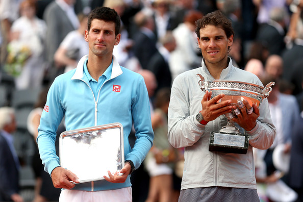 Nadal's last victory over Djokovic was almost three years ago at the French Open in 2014, which happens to be Nadal's 14th and most recent Grand Slam victory (Photo by Matthew Stockman / Getty Images)