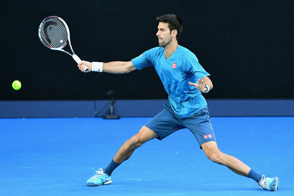 Djokovic will be looking to win a 13th Grand Slam singles title in Melbourne (Photo by Quinn Rooney / Getty Images)
