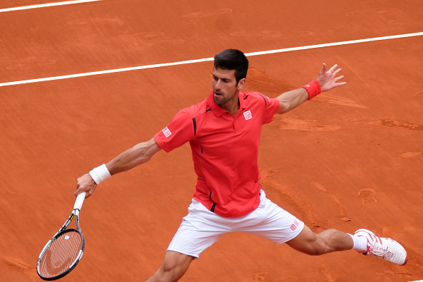 Djokovic during his clash in Madrid with Bautista Agut (Photo: Getty Images/Gonzalez Fuentes Oscar)